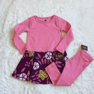 Tea Collection Dress and Leggings Set